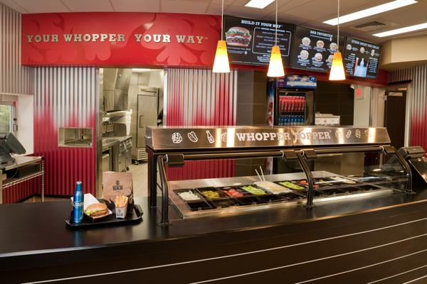 Burger King's Whopper Bar in Miami's South Beach opened earlier this year.