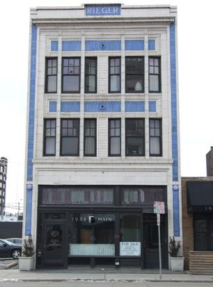 The Rieger Hotel Grill & Exchange opened during the weekend in the former 1924 Main space (pictured here) in Kansas City's Crossroads Arts District.