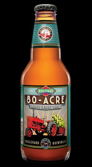 Boulevard Brewing Co.'s first year-round beer in two years -- 80-acre Hoppy Wheat Beer -- hits shelves starting this week.