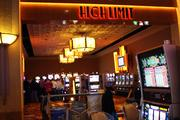 A separate high-limit slots room is on the perimeter of the casino.