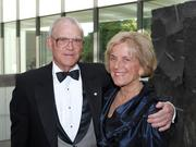 Adele and husband Don Hall at the 2007 opening of the Bloch Building at the Nelson-Atkins Museum of Art.