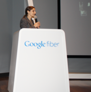 Alana Karen, Google Fiber director of service delivery, explains Google's customer service promises, which include respecting customers' time and answering questions in plain English without using jargon.