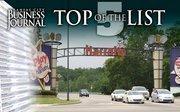No. 3 Harrah's North Kansas City Casino & Hotel 1 Riverboat Drive, North Kansas City, MO 64116 2011 attendance: 2,553,000