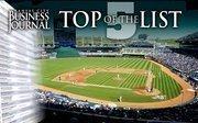 No. 4 Kansas City Royals Baseball Club 1 Royal Way, Kansas City, MO 64129 2011 attendance: 1,724,370