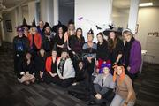 The Burns & McDonnell human resources department gets into the Halloween spirit.