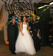 Burns & McDonnell employees Nan Calhoun (left), Sarah Elliot and Michele Fry.