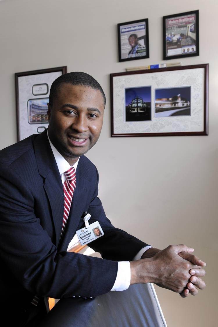 Overland Park Regional Medical Center CEO Damond Boatwright announced Friday he will resign his position, effective in January.