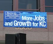 Burns & McDonnell's plans to add 500 jobs in the Kansas City area by 2013.