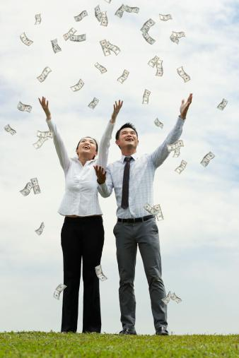 Most U.S. workers say they'd feel successful earning less than $70,000 a year, a new CareerBuilder survey finds.