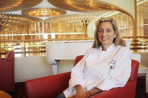 Debbie Gold is executive chef at The American Restaurant, probably Kansas City's best-known fine dining establishment.