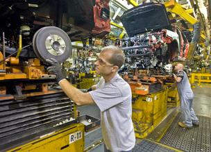Ford Motor Co.'s Kansas City Assembly Plant made its last Escape in late April; now, Escapes are made in Kentucky. That change sparked 30 layoffs at a Riverside plant that makes vehicle seats.