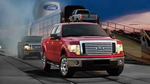 Produced at Ford's Kansas City's Assembly Plant in Claycomo, the F-Series pickup remains the top-selling vehicle in the U.S.