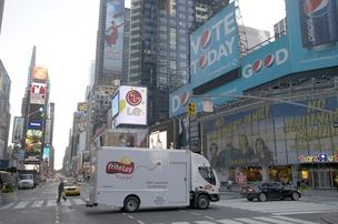 Smith Electric Vehicles all-electric Frito-Lay truck in New York City