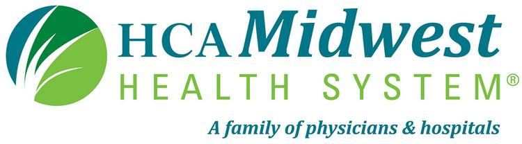 The HCA Midwest Health System logo.