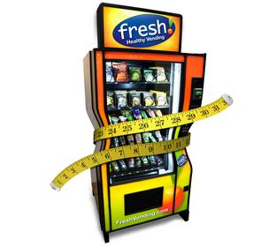 Fresh Vending Machine, healthy food