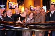 Casino and state officials cut the ribbon to open Hollywood Casino at Kansas Speedway.
