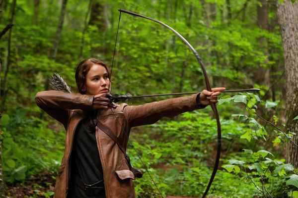 """Hawaii's film commissioner says """"The Hunger Games: Catching Fire"""" sequel will film on Oahu before the end of the year. Seen in this file photo is Jennifer Lawrence as Katniss Everdeen in a still from """"The Hunger Games."""""""