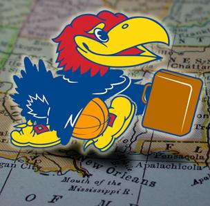 Kansas Jayhawk going to New Orleans