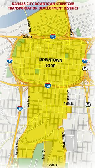 Kansas City Downtown Streetcar Transportation Development District