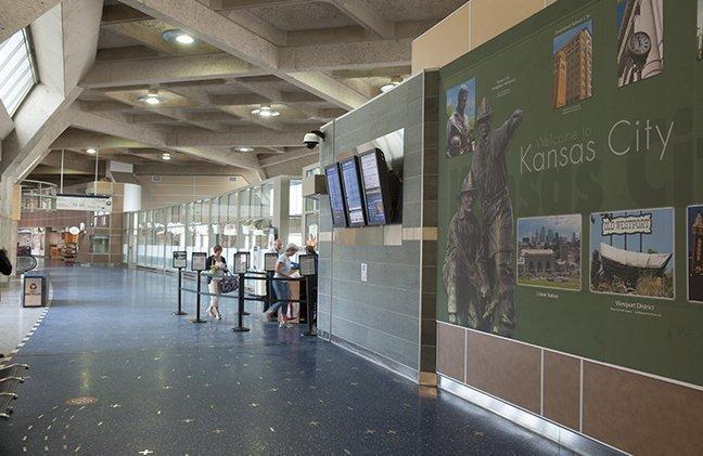 January brought 6.8 percent fewer passengers to Kansas City International Airport (Code: MCI) than last year.