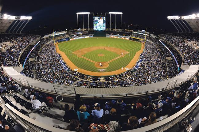 A report early this week prompted rumors about a possible renaming of the Kansas City Royals' Kauffman Stadium.