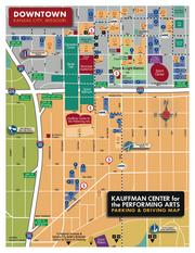 Scroll to the bottom of the story to download a larger version of this map of parking options near Kansas City's new Kauffman Center for the Performing Arts.