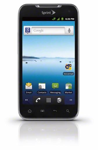 Sprint devices that will run on the 4G LTE network include the LG Viper 4G LTE (pictured) and Galaxy  Nexus, as well as the Sierra Wireless Tri-Network  Hotspot — a 3G, 4G and 4G LTE mobile hotspot.