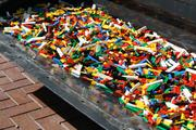 Legos arrive for the groundbreaking of Legoland Discovery Center in Kansas City.