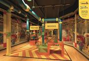 A rendering of Legoland Factory in the planned $15 million Legoland Discovery Center at Crown Center in Kansas City.