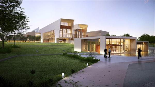 This is a rendering of the National Bio and Agro-Defense Facility in Manhattan, Kan.
