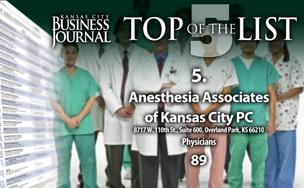 Top Kansas City-area physicians groups list
