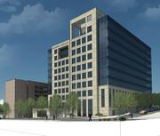 Plaza Vista, portrayed in this rendering, is the new name for the former West Edge project in Kansas City.