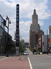 The $850 million Kansas City Power & Light District, an eight-block entertainment district across from the Sprint Center arena, has opened its bars, restaurants and shops in phases since late 2007.