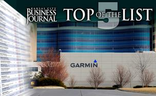 Garmin headquarters in Olathe, Kan. Nasdaq: GRMN