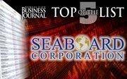 Seaboard Corp.  9000 W. 67th St., Merriam, KS 66202Annual revenue: $5.75 billion
