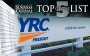 YRC Worldwide Inc.  10990 Roe Ave., Overland Park, KS 66211Annual revenue: $4.87 billion