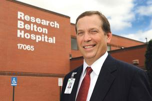 Todd Krass, CEO of Research Belton Hospital