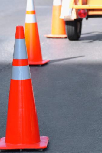 The state announced $900 million worth of road construction projects.