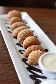 Cinnamon sugarcoated doughnuts