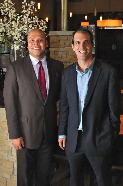 Anthony Zarate (left), operating partner, and owner Kelly Manning will split their time between Tavern at Mission Farms and its predecessor, Tavern in the Village.