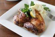 Fresh herb and garlic chicken