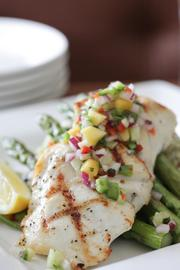 Tavern at Mission Farms will offer a catch of the day, such as this dish.