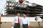 Teva finishes steel structure for Overland Park office building