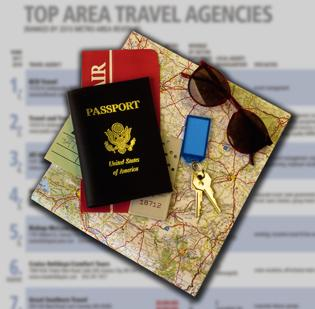 The BBJ ranked the largest travel agencies by revenue.