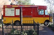 The Westport Street Fare is a stationery food truck that serves a wide variety of menu choices.