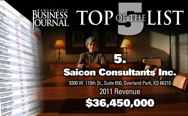 Click through this slide show to see the top 5 women-owned businesses in the Kansas City area, based on 2011 revenue.