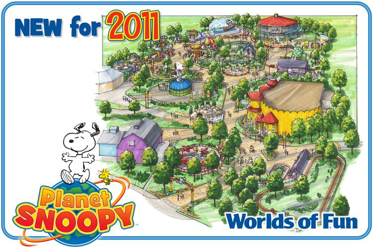 Worlds of Fun will debut a renovated and expanded Planet Snoopy section on Memorial Day weekend.