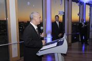 Brian Kaberline, editor-in-chief of the Kansas City Business Journal, thanks the crowd for their participation and support in 2012.