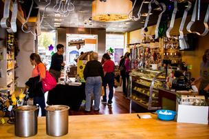 Three Dog Bakery opens its expanded flagship store on Kansas City's Country Club Plaza.
