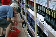 Trader Joe's low-priced wine selection is a drawing point for many shoppers.